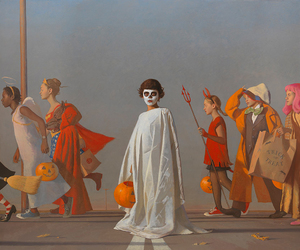 art and Halloween image
