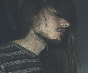long haired guy image