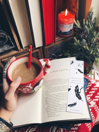 books, christmas, and lovely image