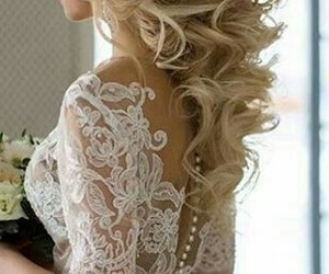 beauty, style, and updo image