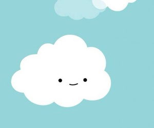 blue, cloud, and happy image