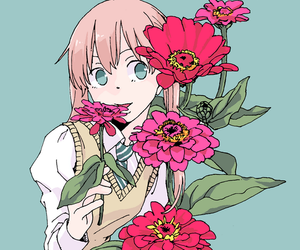 flowers and soul eater image