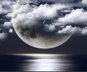 agua, mar, and night image