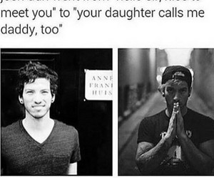 daddy, daughter, and Hot image