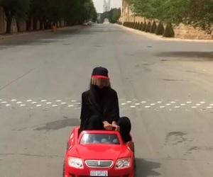 arab, car, and crazy image