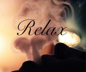 relax, smoke, and weed image