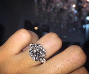 diamond, fashion, and ring image