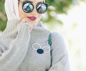 classy, fashion, and glasses image