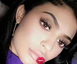 kylie jenner, lips, and king kylie image
