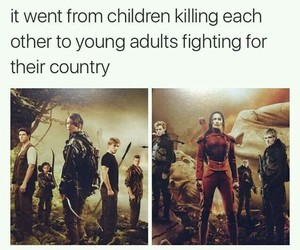 revolution, war, and thehungergames image