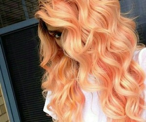 hair, orange, and hairstyle image