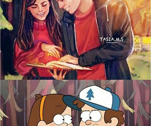 dibujo, gravity falls, and dipper image