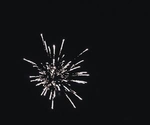 dark, photography, and firework image