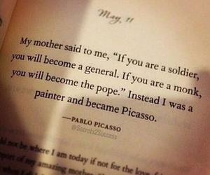 Painter, picasso, and quote image