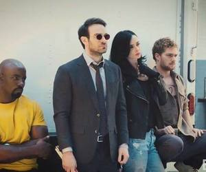 daredevil, Marvel, and iron fist image
