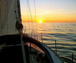 beautiful, boat, and Croatia image