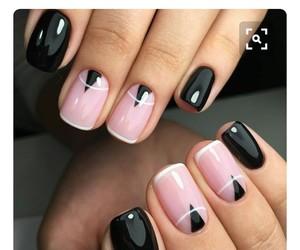 manicure, nails, and nails polish image