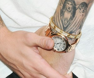 justin bieber, justinbieber, and tattoo image