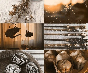harry potter, aesthetic, and hufflepuff image