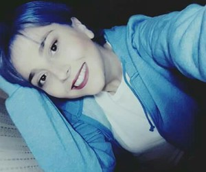 bluehair, girl, and new image