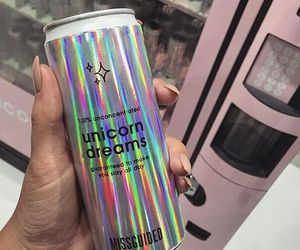 unicorn, drink, and tumblr image