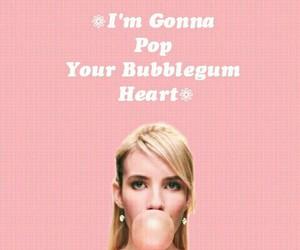 bubblegum, scream queens, and bitch image