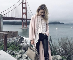 fashion, model, and sonya esman image