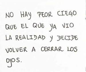 frases, realidad, and quotes image