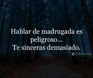 frases, madrugada, and personas image