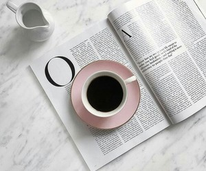 pink, tea, and love image