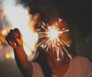 light, tumblr, and fireworks image
