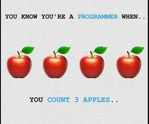 apples, programming, and 😂 image