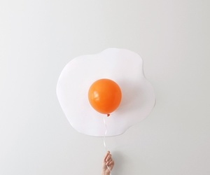 egg, balloons, and white image