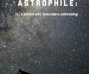definition, words, and astrophilia image
