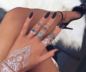 henna, style, and tatto image