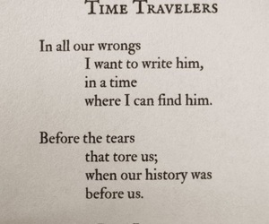 Lang Leav, poem, and time travelers image