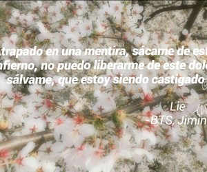 letras, lie, and Lyrics image