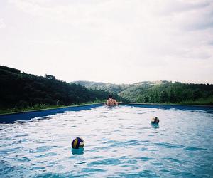 pool and girl image
