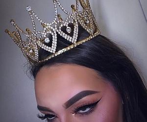 crown, eyebrows, and makeup image