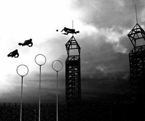 quidditch, snitch, and cazadores image