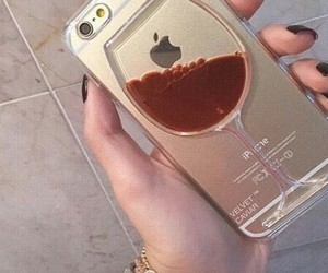 glass, iphone, and transparent image