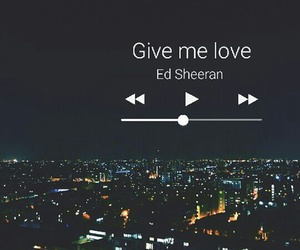 music, play, and give me love image