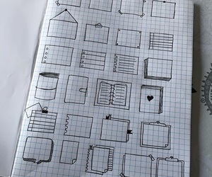 bullet journal and notes image