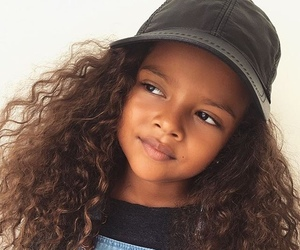beautiful, curly hair, and kids image