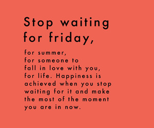 quotes, friday, and happiness image