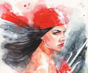 Marvel, elektra natchios, and elektra image