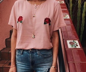 fashion, pink, and rose image