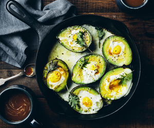 avocado, breakfast, and herb image