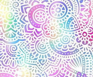 mandala, colors, and background image