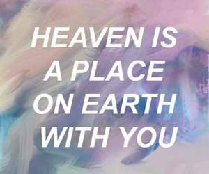love, heaven, and quotes image